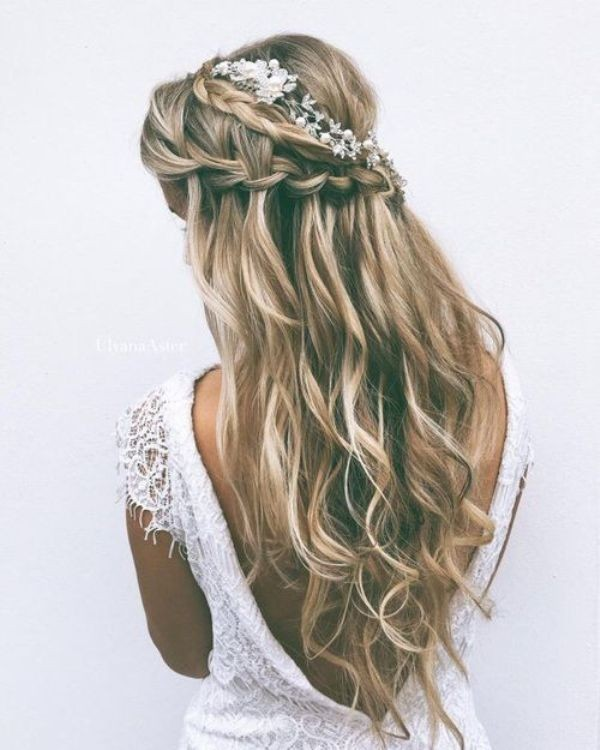 wedding-hairstyles-2017-166 81+ Beautiful Wedding Hairstyles for Elegant Brides in 2020