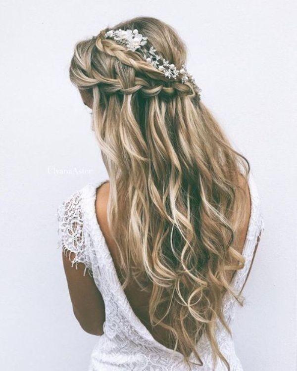 wedding-hairstyles-2017-166 81+ Beautiful Wedding Hairstyles for Elegant Brides in 2020