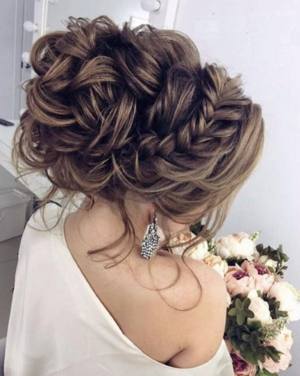 wedding-hairstyles-2017-167 81+ Beautiful Wedding Hairstyles for Elegant Brides in 2020