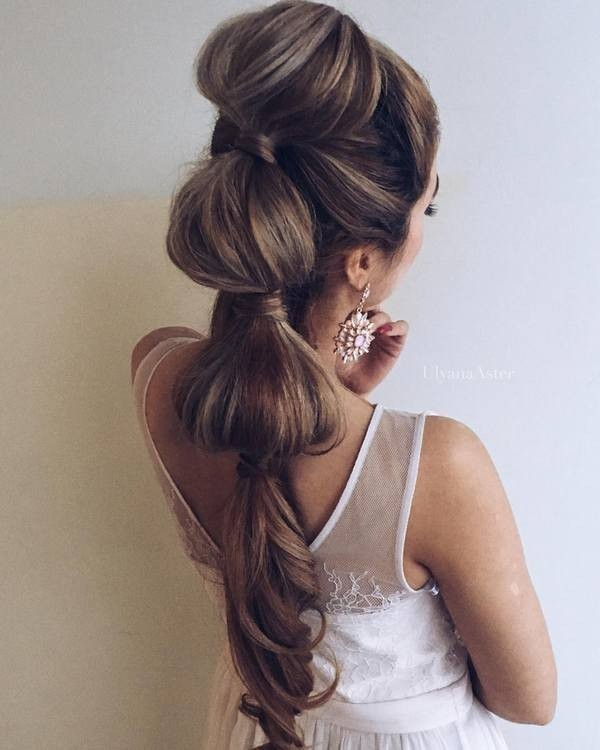 wedding-hairstyles-2017-168 81+ Beautiful Wedding Hairstyles for Elegant Brides in 2020