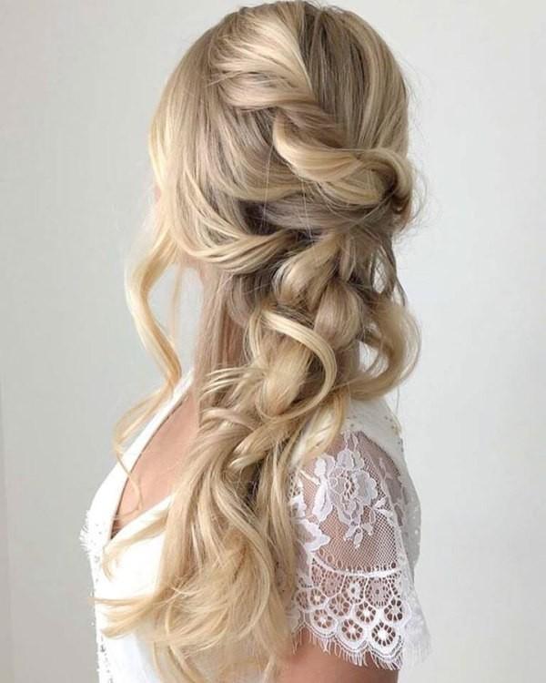 wedding-hairstyles-2017-169 81+ Beautiful Wedding Hairstyles for Elegant Brides in 2018