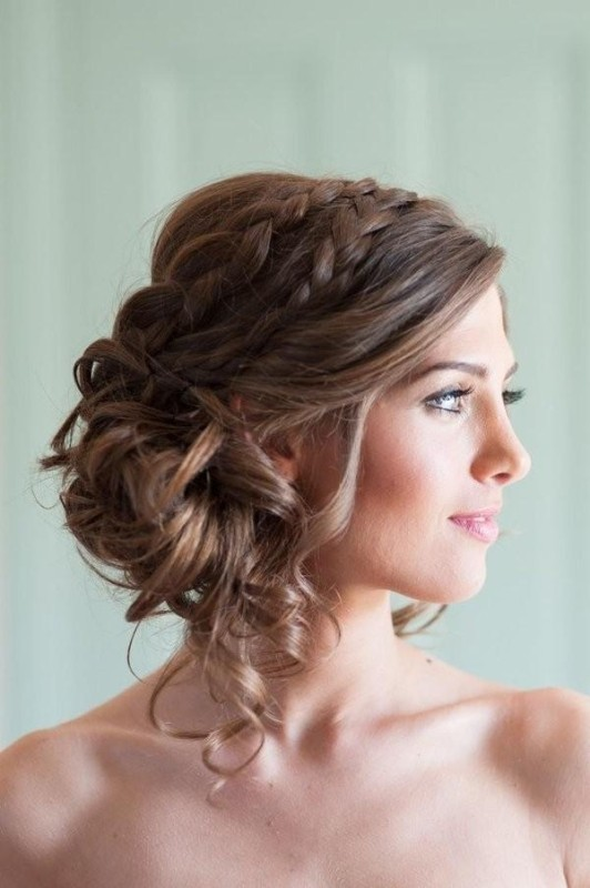 wedding-hairstyles-2017-17 81+ Beautiful Wedding Hairstyles for Elegant Brides in 2020