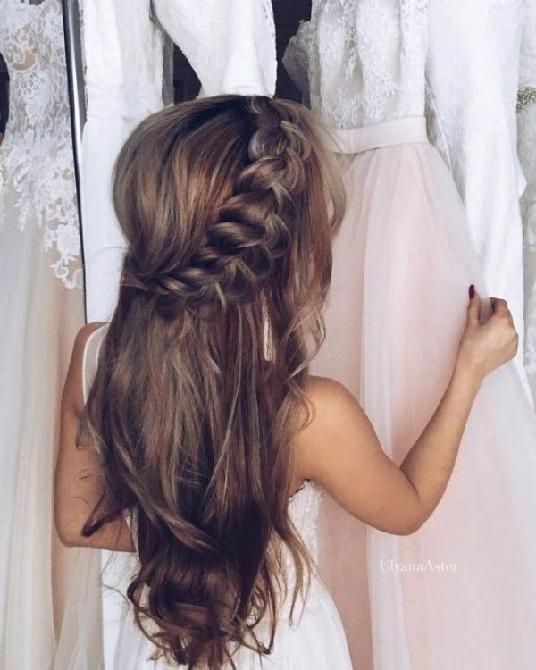 wedding-hairstyles-2017-171 81+ Beautiful Wedding Hairstyles for Elegant Brides in 2020