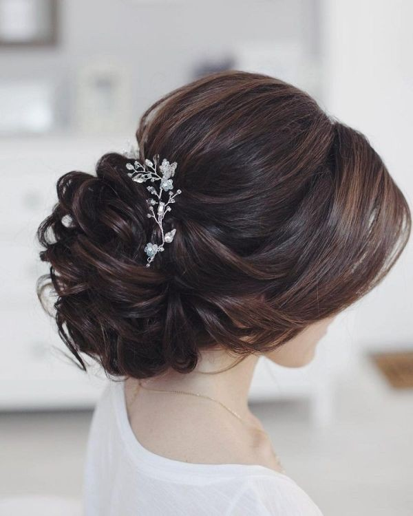 wedding-hairstyles-2017-173 81+ Beautiful Wedding Hairstyles for Elegant Brides in 2020