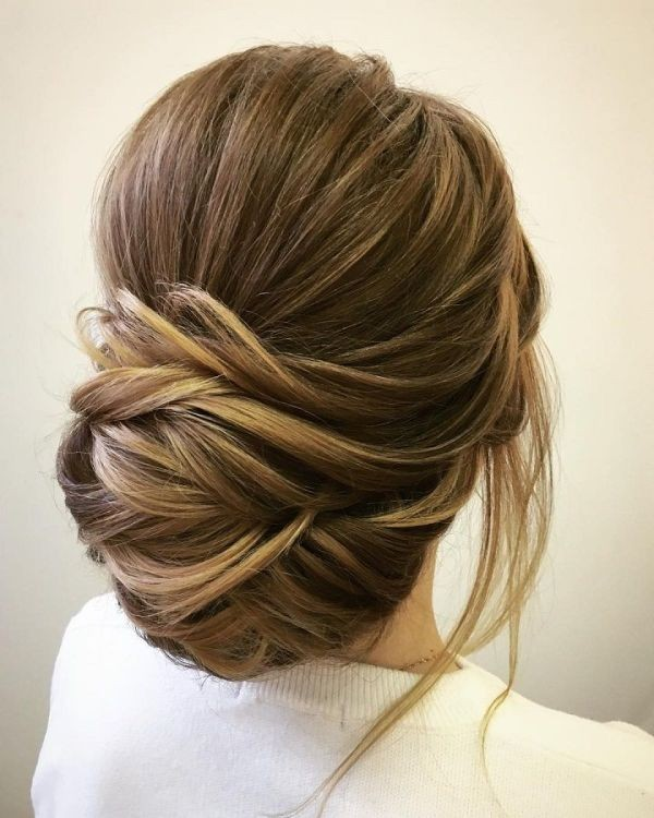 wedding-hairstyles-2017-175 81+ Beautiful Wedding Hairstyles for Elegant Brides in 2020