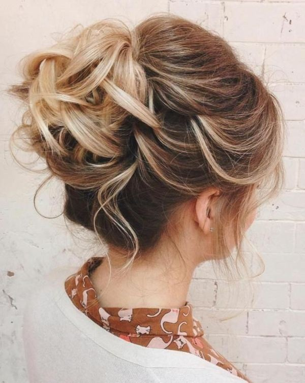 wedding-hairstyles-2017-176 81+ Beautiful Wedding Hairstyles for Elegant Brides in 2020