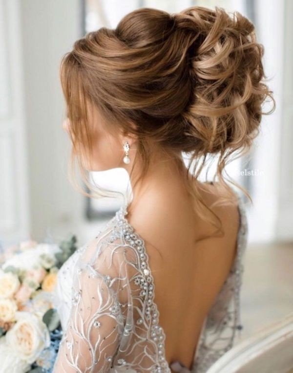 wedding-hairstyles-2017-178 81+ Beautiful Wedding Hairstyles for Elegant Brides in 2020