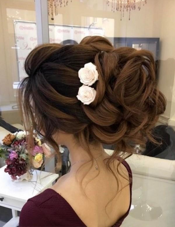 wedding-hairstyles-2017-182 81+ Beautiful Wedding Hairstyles for Elegant Brides in 2020