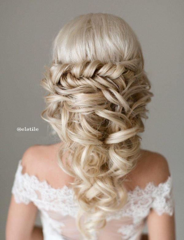 wedding-hairstyles-2017-183 81+ Beautiful Wedding Hairstyles for Elegant Brides in 2020