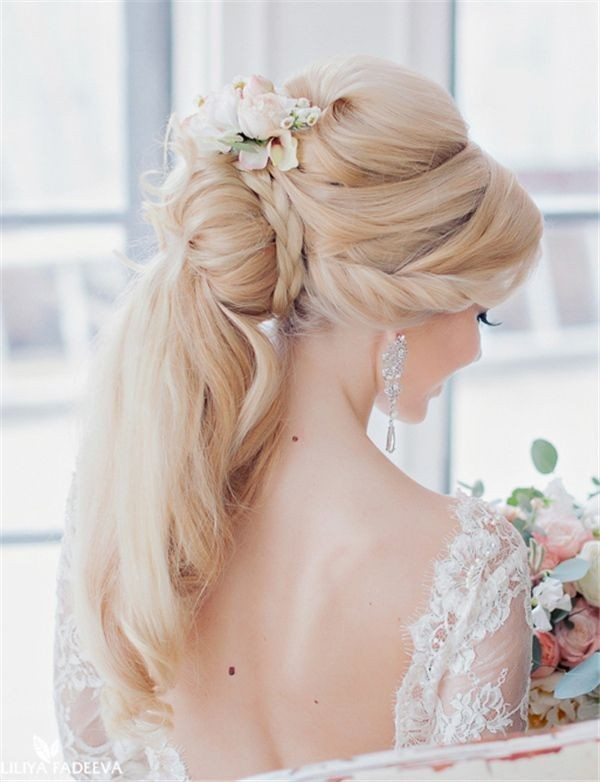 wedding-hairstyles-2017-184 81+ Beautiful Wedding Hairstyles for Elegant Brides in 2018