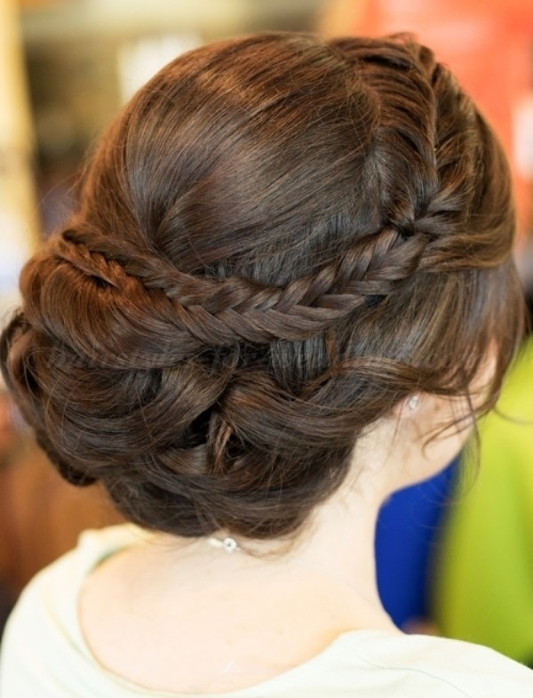 wedding-hairstyles-2017-185 81+ Beautiful Wedding Hairstyles for Elegant Brides in 2020