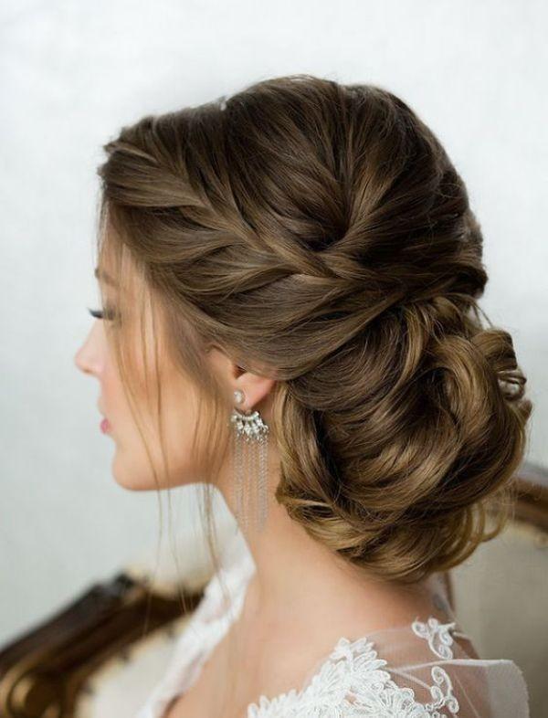 wedding-hairstyles-2017-187 81+ Beautiful Wedding Hairstyles for Elegant Brides in 2020
