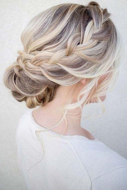 wedding-hairstyles-2017-19 81+ Beautiful Wedding Hairstyles for Elegant Brides in 2020