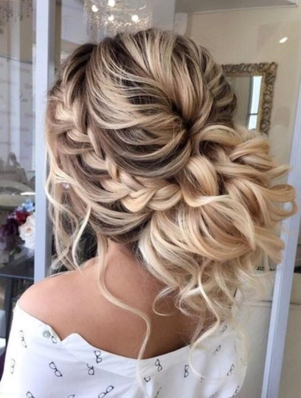 wedding-hairstyles-2017-190 81+ Beautiful Wedding Hairstyles for Elegant Brides in 2018