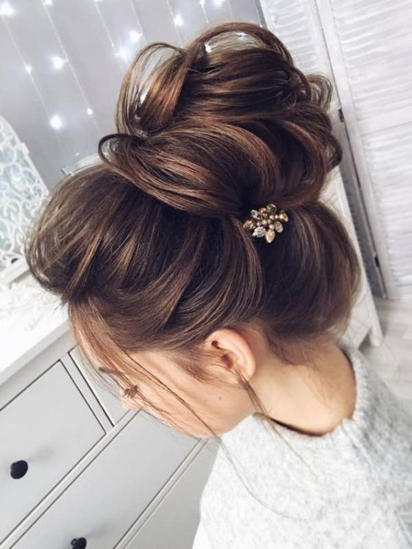 wedding-hairstyles-2017-193 81+ Beautiful Wedding Hairstyles for Elegant Brides in 2020