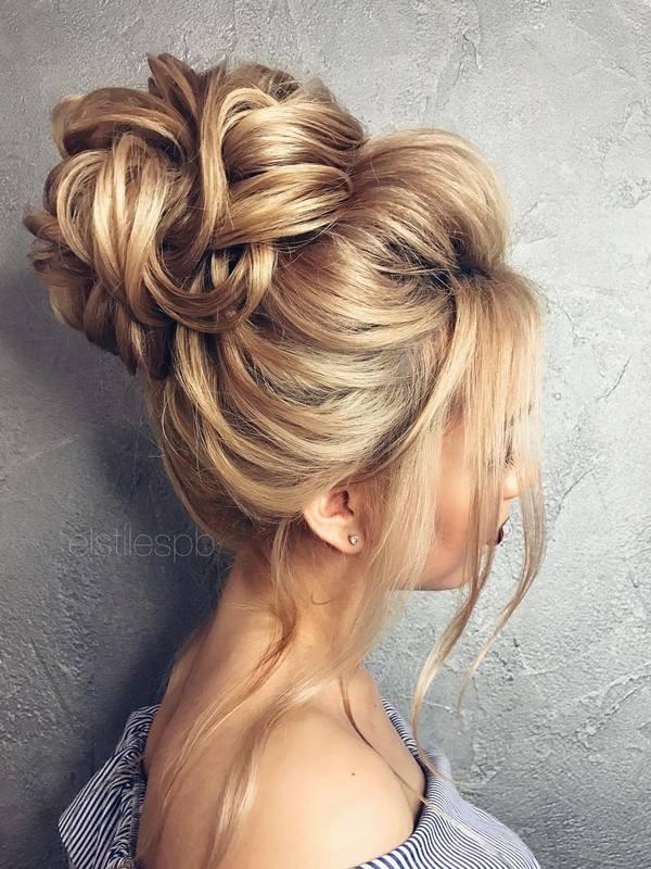 wedding-hairstyles-2017-195 81+ Beautiful Wedding Hairstyles for Elegant Brides in 2020