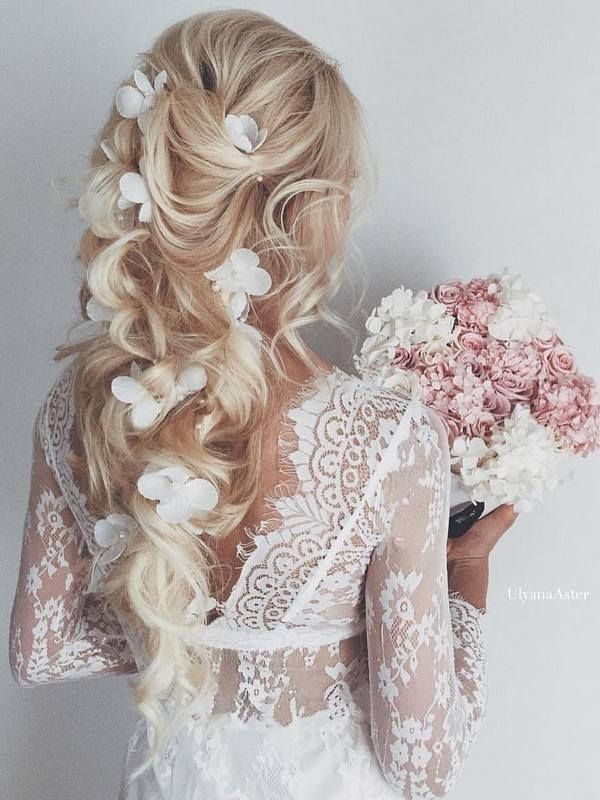 wedding-hairstyles-2017-196 81+ Beautiful Wedding Hairstyles for Elegant Brides in 2020