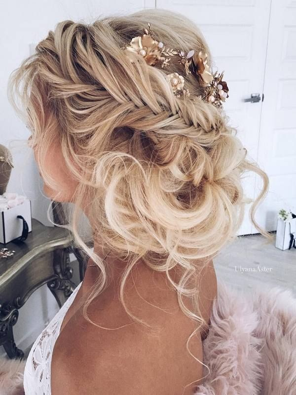 wedding-hairstyles-2017-197 81+ Beautiful Wedding Hairstyles for Elegant Brides in 2020
