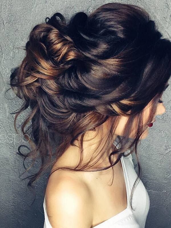 wedding-hairstyles-2017-199 81+ Beautiful Wedding Hairstyles for Elegant Brides in 2020