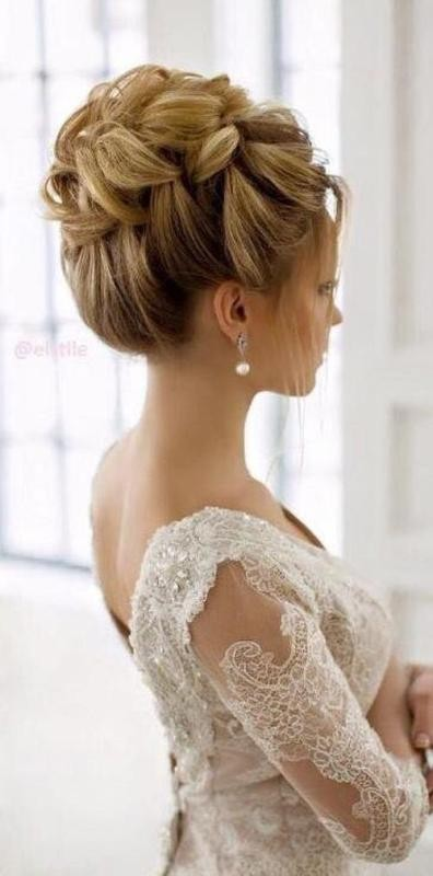 wedding-hairstyles-2017-2 81+ Beautiful Wedding Hairstyles for Elegant Brides in 2018