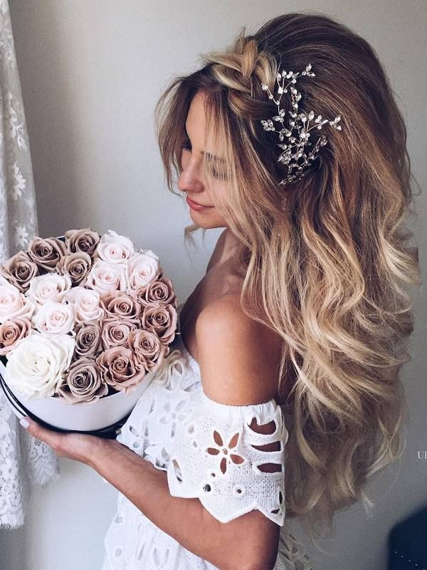 wedding-hairstyles-2017-201 81+ Beautiful Wedding Hairstyles for Elegant Brides in 2018