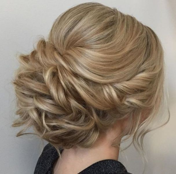 wedding-hairstyles-2017-204 81+ Beautiful Wedding Hairstyles for Elegant Brides in 2020