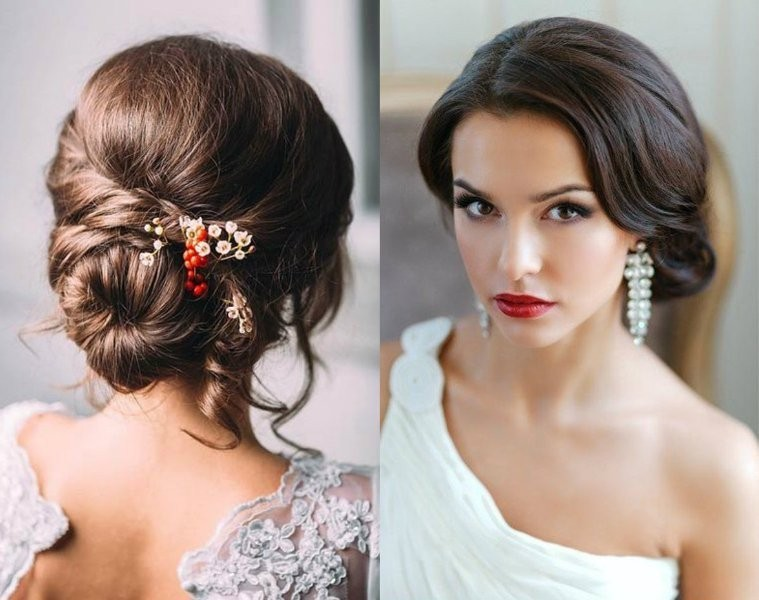 wedding-hairstyles-2017-205 81+ Beautiful Wedding Hairstyles for Elegant Brides in 2020