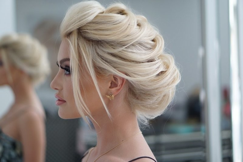wedding-hairstyles-2017-208 81+ Beautiful Wedding Hairstyles for Elegant Brides in 2020