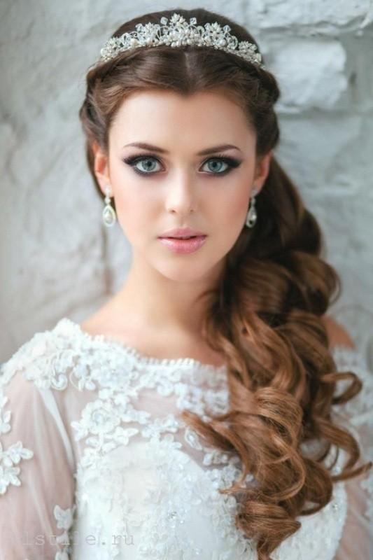 wedding-hairstyles-2017-21 81+ Beautiful Wedding Hairstyles for Elegant Brides in 2018