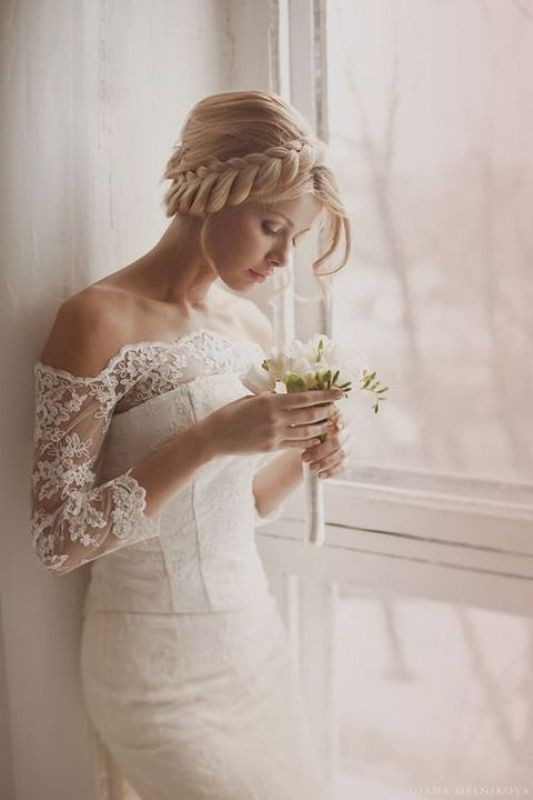 wedding-hairstyles-2017-26 81+ Beautiful Wedding Hairstyles for Elegant Brides in 2020