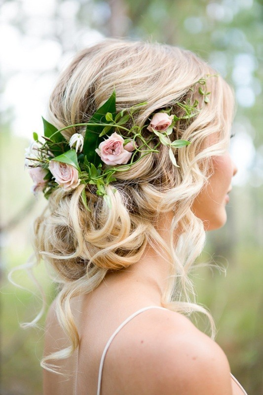 wedding-hairstyles-2017-31 81+ Beautiful Wedding Hairstyles for Elegant Brides in 2020