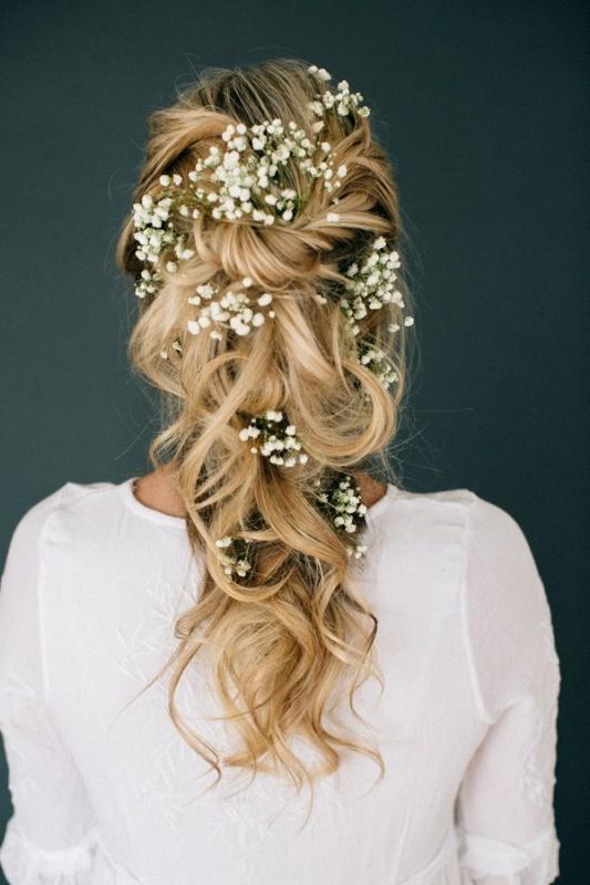 wedding-hairstyles-2017-32 81+ Beautiful Wedding Hairstyles for Elegant Brides in 2020