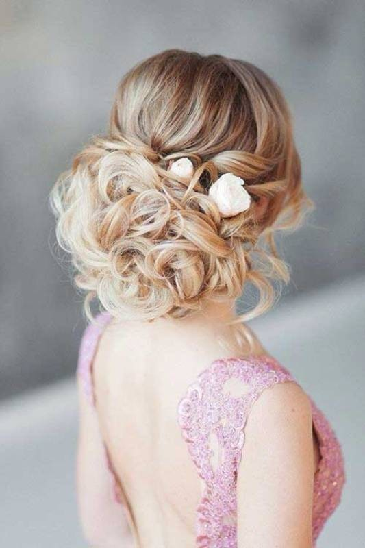 wedding-hairstyles-2017-34 81+ Beautiful Wedding Hairstyles for Elegant Brides in 2020