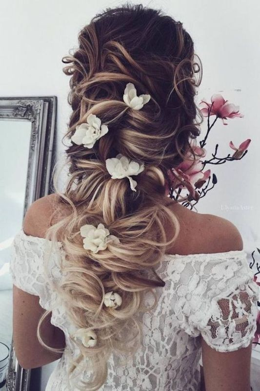 wedding-hairstyles-2017-37 81+ Beautiful Wedding Hairstyles for Elegant Brides in 2020