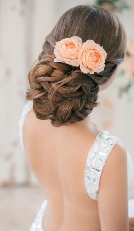 wedding-hairstyles-2017-4 81+ Beautiful Wedding Hairstyles for Elegant Brides in 2018