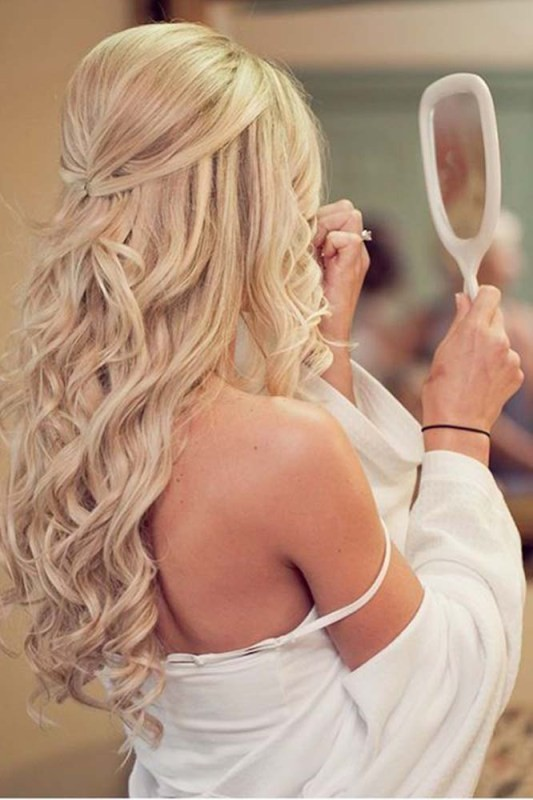 wedding-hairstyles-2017-40 81+ Beautiful Wedding Hairstyles for Elegant Brides in 2020