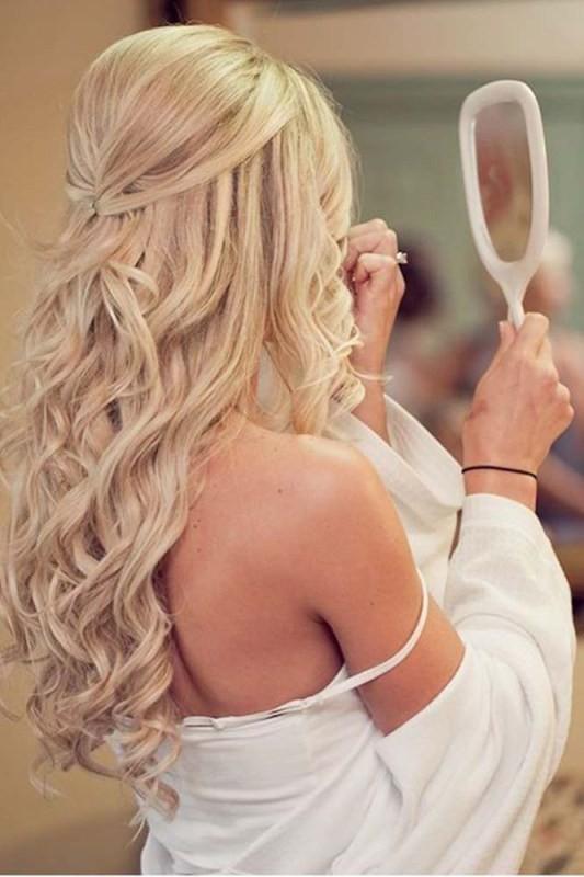 wedding-hairstyles-2017-40 81+ Beautiful Wedding Hairstyles for Elegant Brides in 2020