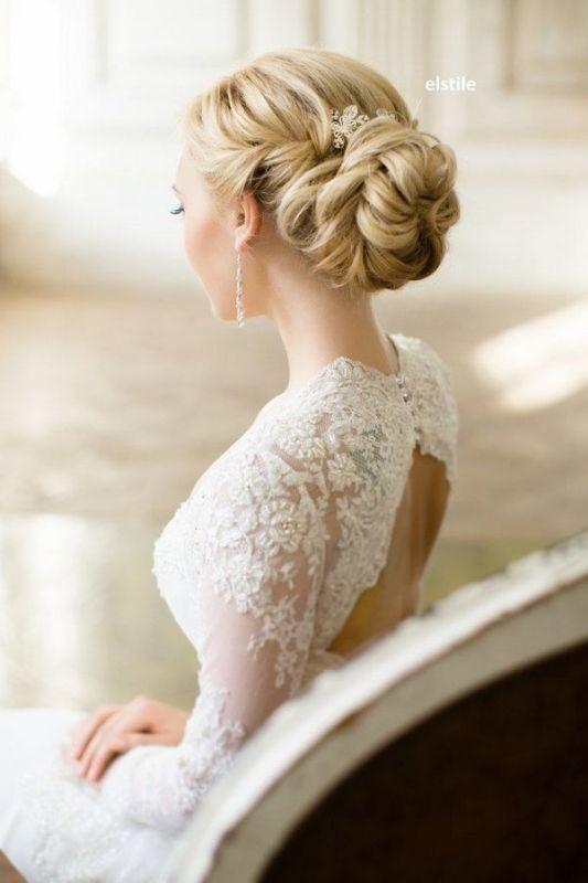 wedding-hairstyles-2017-41 81+ Beautiful Wedding Hairstyles for Elegant Brides in 2018