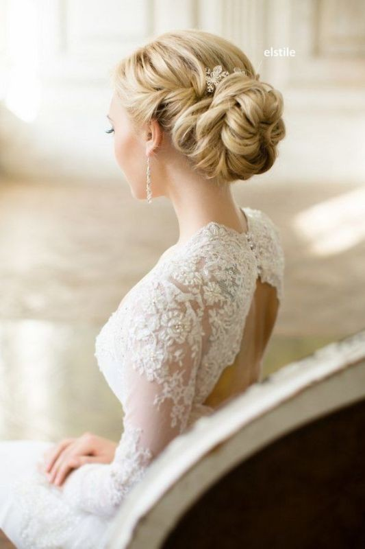 wedding-hairstyles-2017-41 81+ Beautiful Wedding Hairstyles for Elegant Brides in 2020