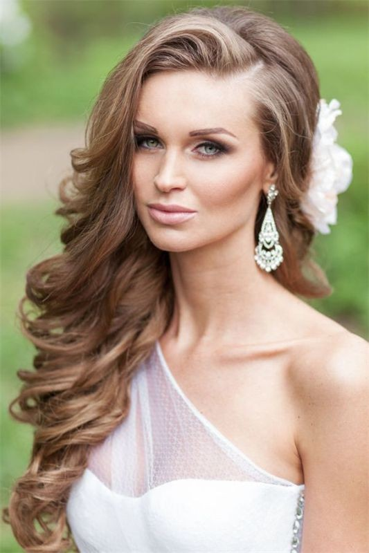 wedding-hairstyles-2017-45 81+ Beautiful Wedding Hairstyles for Elegant Brides in 2018