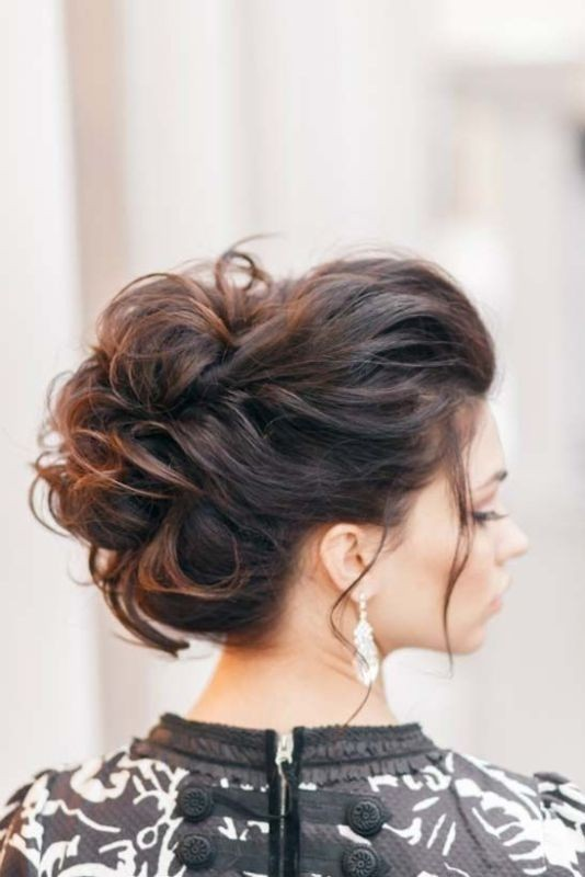 wedding-hairstyles-2017-46 81+ Beautiful Wedding Hairstyles for Elegant Brides in 2020
