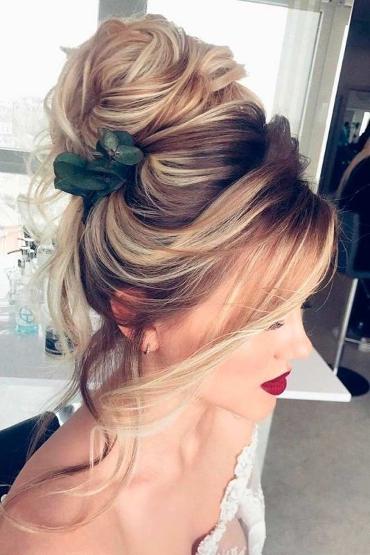 wedding-hairstyles-2017-47 81+ Beautiful Wedding Hairstyles for Elegant Brides in 2020