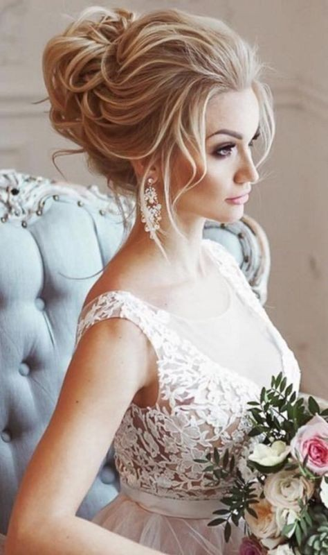 wedding-hairstyles-2017-5 81+ Beautiful Wedding Hairstyles for Elegant Brides in 2020