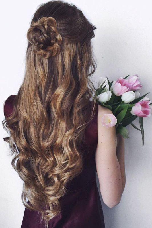 wedding-hairstyles-2017-50 81+ Beautiful Wedding Hairstyles for Elegant Brides in 2020