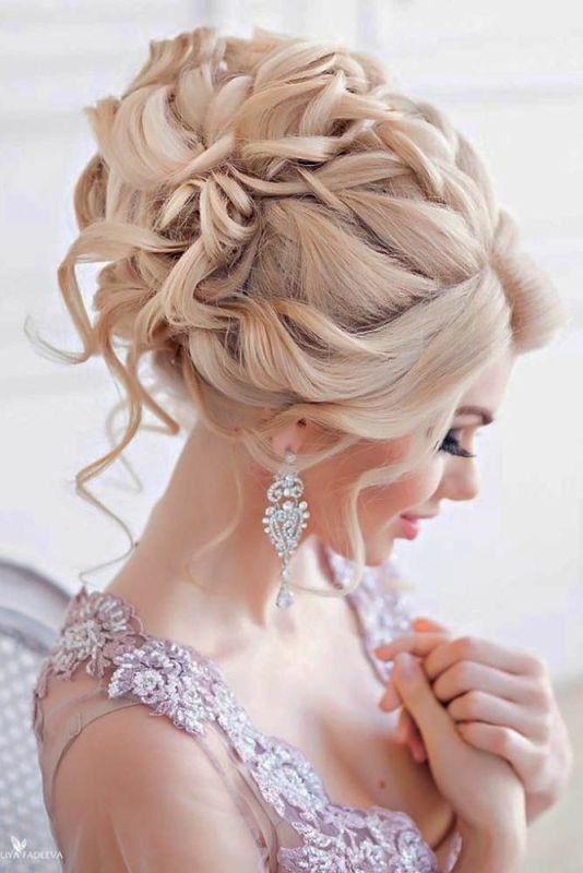 wedding-hairstyles-2017-51 81+ Beautiful Wedding Hairstyles for Elegant Brides in 2018