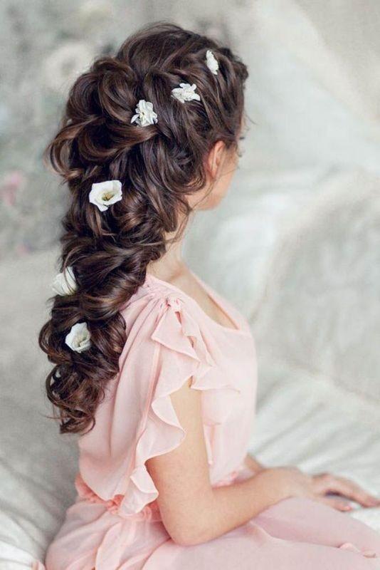 wedding-hairstyles-2017-52 81+ Beautiful Wedding Hairstyles for Elegant Brides in 2018