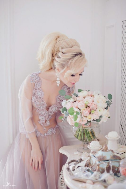 wedding-hairstyles-2017-53 81+ Beautiful Wedding Hairstyles for Elegant Brides in 2020