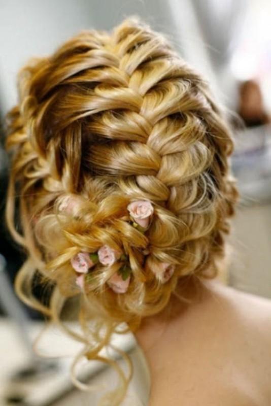 wedding-hairstyles-2017-59 81+ Beautiful Wedding Hairstyles for Elegant Brides in 2018