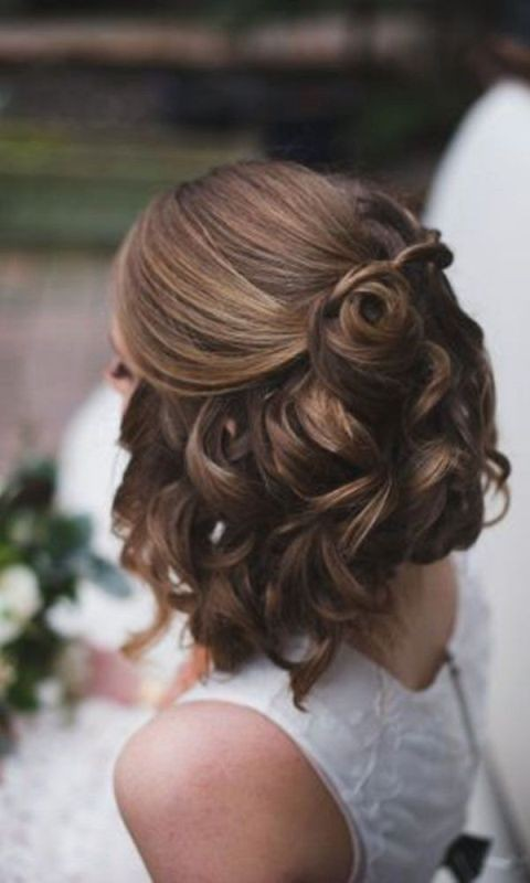 wedding-hairstyles-2017-6 81+ Beautiful Wedding Hairstyles for Elegant Brides in 2020