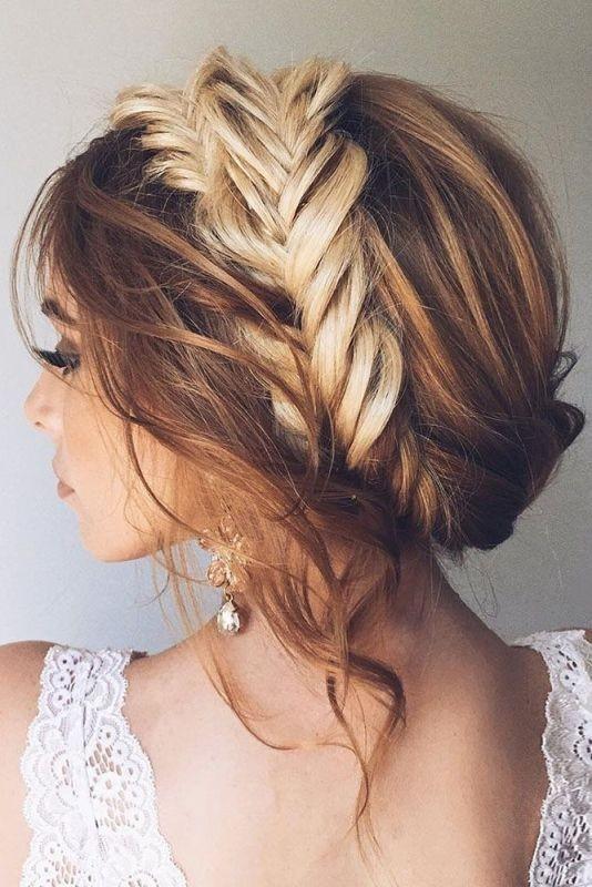 wedding-hairstyles-2017-61 81+ Beautiful Wedding Hairstyles for Elegant Brides in 2020